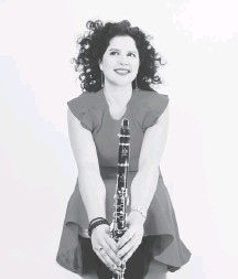 ?? SHERVIN LAINEZ ?? Anat Cohen, the Tel Aviv-born clarinetist, played a set of contemporary jazz on the opening night of the D.C. Jazz Festival.