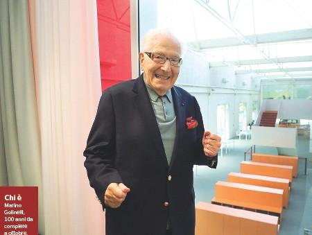 ??  ?? Chi è Marino Golinelli, 100 anni da compiere a ottobre, è imprenditore farmaceutico, filantropo, benefattore e ha creato la Fondazione che porta il suo nome