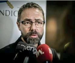 ?? FOTO: CHRISTAN LÄRK ?? DRÖJER. Förundersökningsledare Hans Ihrman hoppas på att åtal kan väckas under hösten.