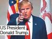 ??  ?? US President Donald Trump.