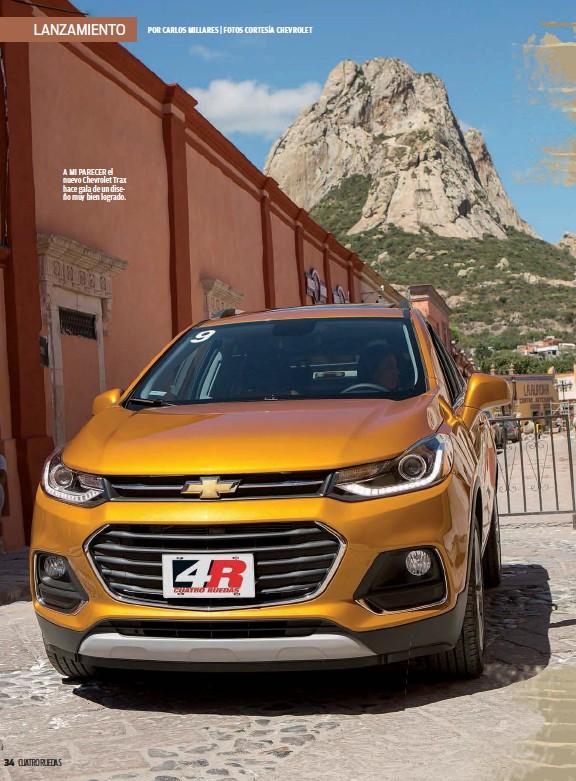 Pressreader 4 Ruedas 2016 11 01 Lanzamiento Chevrolet Trax