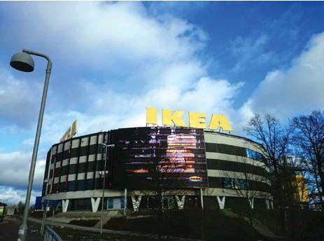 ?? FOTO: MOSTPHOTOS ?? STÖRST. Ikea i Kungens kurva är det till ytan största Ikea-varuhuset i världen.