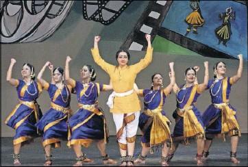 ?? Raj Sundar ?? Eyakkam Dance Company will highlight production numbers from the last 80 years of Tamil cinema in Konjum Salangai 2.0.