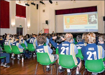 ??  ?? 120 students from Corowa High School and Rutherglen High School attended the Cool Heads seminar at the Rutherglen Memorial Hall last Wednesday. The students learnt about the devastating effects of road trauma and heard from a variety of guest speakers.