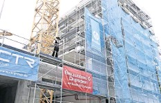 ?? FOTO: ARCHIV ?? Wieviel Prozent Sozialwohnungen müssen private Investoren in Dresden errichten?