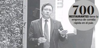 ?? ADRIÁN VÁZQUEZ ?? José Villarreal, director general de Subway México