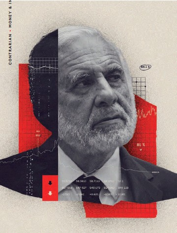 ??  ?? The Raider's Rough Ride Carl Icahn's fund has lost money in five of the last seven years. He hopes to turn things around with big bets on Occidental, Bausch Health, Cheniere Energy, Newell Brands and Xerox.