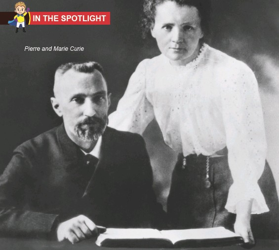 ??  ?? Pierre and Marie Curie