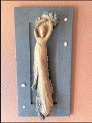 ?? Peter Chandler/ Courtesy photo ?? A wood carving by Peter Chandler.