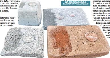 ??  ?? Materiales. impermeabilizados parcialmente en base a la nanociencia.
