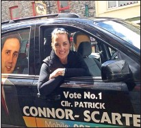 ??  ?? vote: RTÉ's Kathryn Thomas's tweet from South Kerry