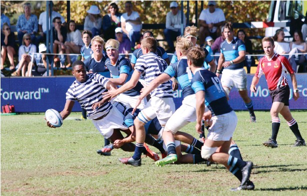 ?? Photo: Stephen Pettitt ?? St Andrew's College narrowly lost to South African College Schools (SACS) on the final day of the Saints Easter Festival.