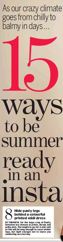 dc4248226a9 PressReader - Daily Mail  2018-04-19 - 15 ways to be summer ready in ...