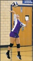 ?? PHOTO BY BILL GATES ?? The Kenwood volleyball team repeated as county Division II champions.