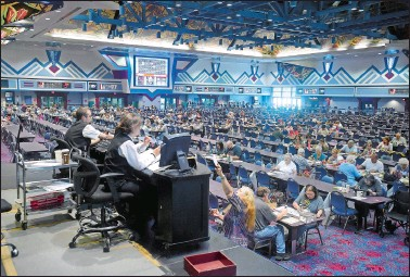 Foxwoods bingo open