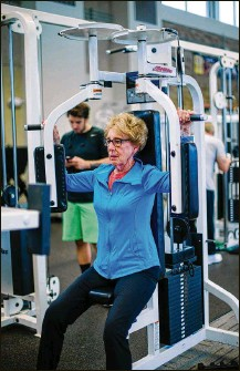 ?? CONTRIBUTED ?? February is national Heart Health Month, and Kettering's fitness centers are doing their part to assist residents.