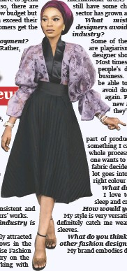 Pressreader The Punch 2020 01 19 Fashion Designers Should Avoid Repetition Plagiarism Kasumu