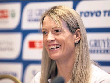 ??  ?? TOUGH LUCK: Eilidh Doyle has it all to do if she is to make it to Tokyo.