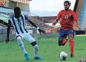 ?? FOTO: CORTESÍA FEDEFUTBOL ?? Honduras empató 1 a 1 contra su par de Costa Rica en San José.