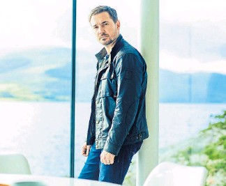 ??  ?? GREAT SCOT: Line Of Duty star Martin Compston takes the lead in BBC drama The Nest