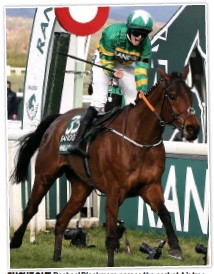 ??  ?? SHOUT OUT Rachael Blackmore passes the post at Aintree