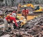 ?? BILD: SN/APA/AFP/DOUGLAS MAGNO ?? Suche nach 2019. Opfern des Dammbruchs
