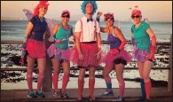 ??  ?? The Cancercare Lace Up for Cancer 5km and 10km fun walk/run will take place tomorrow at Green Point athletics track in Cape Town.