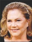 ??  ?? KATHLEEN TURNER: Said to have collapsed in New York.