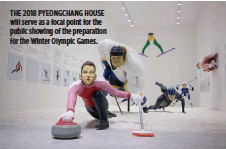 ??  ?? THE 2018 PYEONGCHANG HOUSE will serve as a focal point for the public showing of the preparation for the Winter Olympic Games.