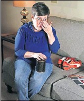 ?? PERENIC/DISPaTCH] ?? Before her son kyle died in september 2017 of an overdose, kristy whaley took part in a grief recovery program to deal with the grief she felt because he was an addict. she still attends, focusing on her grief over his death. [BaRBaRa