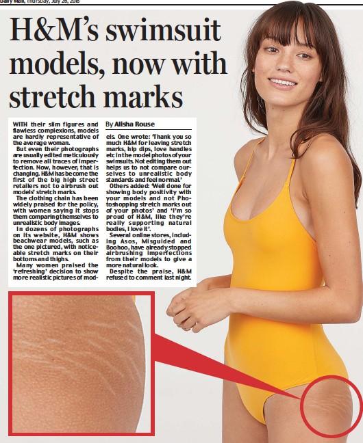 7593b8480e PressReader - Daily Mail  2018-07-26 - H M s swimsuit models