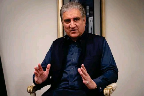 ?? (Bel Trew) ?? Shah Mahmood Qureshi said western countries should let the new leadership 'evolve'