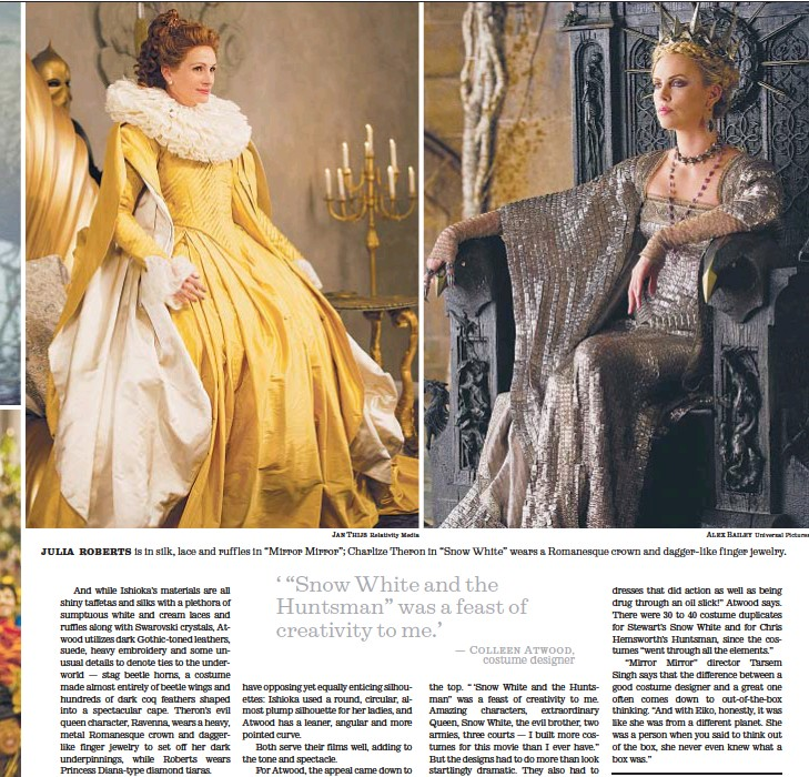 Pressreader Los Angeles Times 2013 01 24 Two Snow Whites