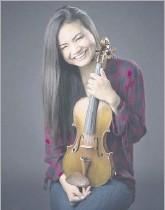 ?? Las Colinas Symphony ?? Violinist Kiarra Saito-beckman will play with the Garland and Las Colinas symphonies April 16-17.