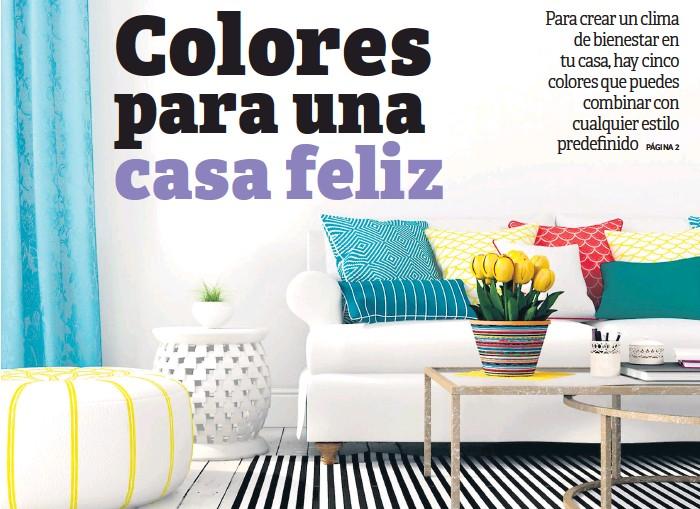 Pressreader Diario La Prensa 2019 01 18 Colores Para Una Casa Feliz
