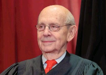 """?? ASSOCIATED PRESS ?? Justice Stephen G. Breyer said last week that a """"structural alteration"""" would feed a public perception of political influence on the Supreme Court's decisions."""