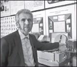??  ?? Александр Провозин: «Коллектив разработчиков «гагаринского» магнитофона был в основном молодежным: 22—27 лет»