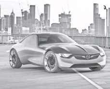 ?? LUKE RAY ?? General Motors says the Opel GT Concept shows what a sports car of the future will look like.