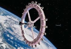 ?? Foto: Voyager Station ?? So soll das erste Weltraumhotel aussehen.