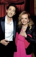 ??  ?? Actor Adrien Brody and Chopard co-president Caroline Scheufele