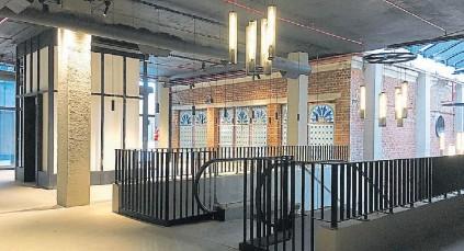 ??  ?? INTERIORES. El equipo de arquitectos se propuso conservar las huellas de las distintas intervenciones.