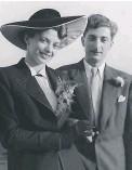 ??  ?? Edith and Jindi on their wedding day