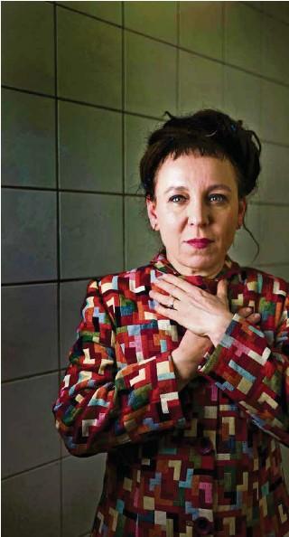 ?? (JEAN-LUC BERTINI/PASCO) ?? En 2018, la Polonaise Olga Tokarczuk était la quinzième écrivaine à recevoir le Prix Nobel de littérature, décerné depuis 1901.