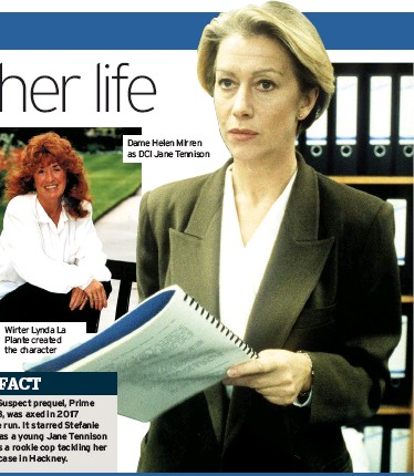 ??  ?? Dame Helen Mirren as DCI Jane Tennison
