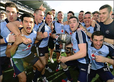 ??  ?? DOminant: Dublin are tipped to rule Gaelic football for a long time, but they are not the first and it's not going to last forever