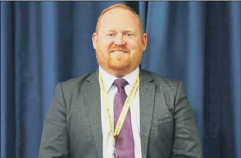 ??  ?? VISION Miltoncross Academy headteacher Craig Noble