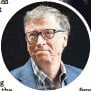 ??  ?? TED S. WARREN, AP Bill Gates likens the Apple-FBI situation to the police getting records from a phone company.