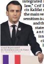 ?? PHOTO: GETTY IMAGES ?? Emmanuel Macron