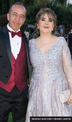 ??  ?? MARIANO SAAVEDRA Y MARIBEL GARCÍA