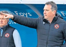 ??  ?? Micky Mellon: Insists he is 'totally focused' on United.